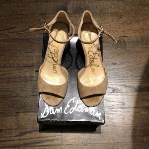 Suede Sam Edelman shoe/ sandal size 10.5